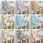 6 Pcs Stretch Spandex Chair Covers Dining Room Wedding Banquet Seat Party 9Types