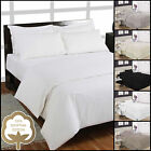 200 Thread Egyptian Cotton Percale Duvet Covers, Fitted Sheets, Pleated Valances