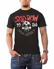 Skid Row T Shirt New Jersey 1986 band logo new Official Mens Black
