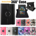 NEW LEATHER CASE COVER FOR AMAZON KINDLE FIRE 7 ALEXA VERSION