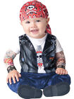 Born To Be Wild Biker Costume Child Infant