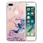 "For Apple iPhone 8 Plus / iPhone 7 Plus 5.5"" TPU Clear Soft Silicone Case Cover"