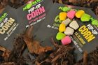 Korda Pop up Corn Fake Food 12pk + hairstops ALL FLAVOURS Fishing tackle