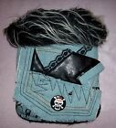 Cha Cha Couture Blue Black Denim and Lace Dog Coat Clothes Pet (XS or Large)