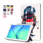 "Samsung Galaxy Tab E 8.0"" SM-T377 Slim Stand Style Flip Leather Case Stand Cover"