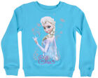 Disney Princess Elsa Sweater Crewneck Pullover Frozen Girls Age 4-6 Disneyland