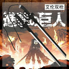 Cosplay Shingeki no Kyojin Attack on Titan Anime 1:1 Schwert Aus PU L,95cm Neu