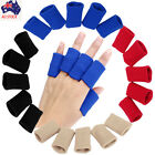 10pcs Stretch Basketball Elastic Finger Guard Support Sleeves Protector Cotton