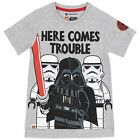 Kids Lego Star Wars T-Shirt | Boys Lego Darth Vader Tee | Lego Star Wars Top