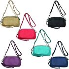 Women Chic Handbag Phone Key Holder Crossbody Bag Adjustable Inner Pocket Zipper