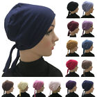 Muslim Women Chemo Hat Stretch Beanie Headscarf Turban Headwrap Cancer Patients