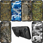 Dual Layer Kickstand Armor Durable Case with Designs For Apple iPhone Models