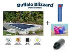 Buffalo Blizzard Deluxe Rectangle Swimming Pool Winter Cover Closing Kit Package