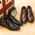 New Arrival Fashion Mens Leather Lace Up Dress Formal Business Shoes Classic