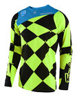 NEW 2018 TROY LEE DESIGNS TLD SE JOKER MOTO MX JERSEY FLO YELLOW ALL SIZES