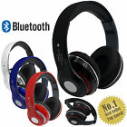 Bluetooth Stereo Headset Foldable Wireless Headphones Mic For iPhone Samsung HTC