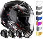 HJC CS-15 Songtan Motorbike Helmet & Visor Full Face Integral Bike Crash Lid ECE