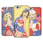 HEAD CASE DESIGNS AMERICA'S SWEETHEART USA SOFT GEL CASE FOR HTC ONE A9s