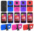 For Motorola Moto E4 / Moto E (4th Gen) Heavy Duty Tough Hybrid Armor Case Cover