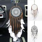 Handmade Lace Dream Catcher With Feathers Car Wall Hanging Decoration Ornament D