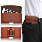 PU Leather Horizontal Belt Clip Pouch Case For Sony Ericsson Xperia X10 Mini