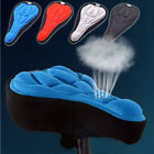 HQ Silicone Thick 3D Gel Pad Soft Comfort Bike Saddle Seat Cover Cycling Bicycle
