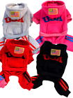 Pet Dog Cat Hooded Hoodie Tracksuit Jumper Trousers Warm Clothing Clothes S-XXL
