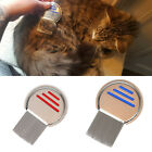Flea Comb Dog Pet Cat Nit Hair Remover Lice Grooming Brush