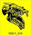 Gothic Skull Vehicle Graphic Vinyl Car Sticker Decal Massive selection WSV1_019