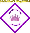 Personalised Baby on Board Car Stickers Decals A675