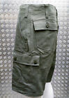 German Military Style 100% Cotton MOLESKIN 6 Pockets Combat Shorts - NEW