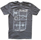 Star Wars TIE Figher Black Squadron Grey Men's Graphic T-Shirt New $12.08 USD on eBay