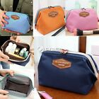 Lady Travel Cosmetic Case Toiletry Makeup Bag Handbag Organizer Pouch Purse NEW