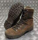 Genuine British Army Issue Meindl Liability Hi Leg Combat Desert Boots Brown