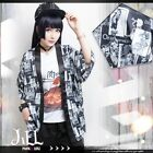 japan visual street punk rise of oregon anime ukiyoe yukata jacket【JTT0080】