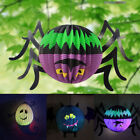 Fun Halloween Hanging Lantern Spider Ghost Shape Paper Party Decoration