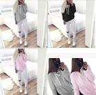 Womens Long Sleeve Hoodie Sweatshirt Sweater Ladies Casual Hooded Coat Pullover