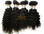 "Mixed Length Body Wavy Deep Curly Hair Extension Weft 18""-26"" 100g #1 Jet Black"