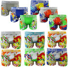 6 Packs Boys Design Boxer Spider Shorts Kids Multipack Trunks Underwear New