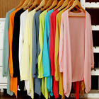 Womens Sunscreen Long Sleeve Cardigan Tops Cover up Shawls Wraps Summer GIFT