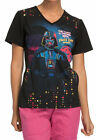 Cherokee Tooniforms Medical Scrubs Star Wars The Last Jedi Top Sz XS-XXL NWT $26.99 USD