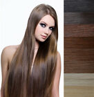 "20"" 22"" 100% Remy Real Human Hair 3M Tape-in Extensions Black Brown Blonde AAAA+"