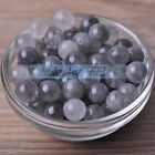 4~10mm Round Natural Ghost Crystal Gemstone Stone Loose Beads Jewelry Findings