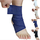 Sport Elastic Ankle Support Foot Compression Wrap Bandage Brace Unisex Fitness