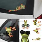 New 3D Frogs Funny Car Stickers Car Styling Vinyl Decal Sticker DZ88