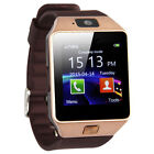 US DZ09 Bluetooth Smart Watch Phone SIM Card For Android IOS HTC Samsung LG HTC