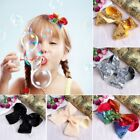 Cute 10cm Sequins Girl Hair Clip Butterfly Bow Baby Children Hairpins Barrette