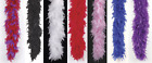 THICK 120GM DELUXE FEATHER BOA 1920S FLAPPER SHOWGIRL BURLESQUE COSTUME BOA 6FT