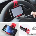 Car Steering Wheel Mount Holder Rubber Band iPhone iPod MP4 GPS Mobile Phone HX