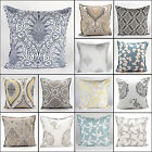 "New Geomatric Cushion Cover 100% Cotton Pillow Case Home Sofa Decor 20"" (50 CM)"